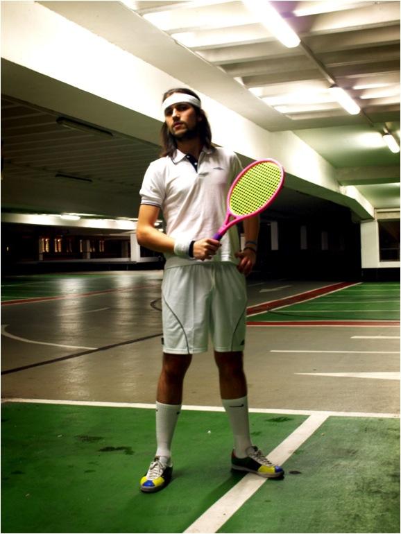 gedrag op de tennisbaan